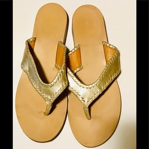 Jack Rogers Leather Sandal
